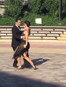What's BA without a little impromptu tango?