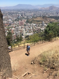 The long, hot climb to the top of San Cristóbal