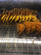 Sweet Thai tacos