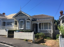Typical style of house in Ponsonby.